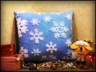 """Cветящаяся подушка """"Снежинка"""""""
