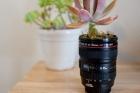 Чашка в виде объектива Canon
