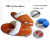 USB тапочки с подогревом (USB heating slippers)
