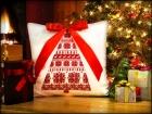 """Cветящаяся подушка """"Новогодняя Ёлочка"""""""