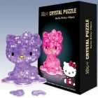 """3D пазл """"Hello Kitty"""" (Crystal Puzzle)"""