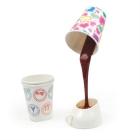 """Настольная лампа-светильник """"Coffee Table Lamp"""" (Выливающийся кофе)"""