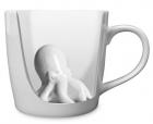 """Чашка с """"осьминогом внутри"""" (керамика)"""