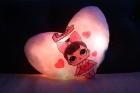 Светящаяся подушка LOL SURPRISE (розовое сердце)