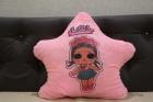 Светящаяся подушка LOL SURPRISE (розовая звёздочка)