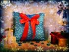 """Cветящаяся подушка """"Новогодняя"""""""